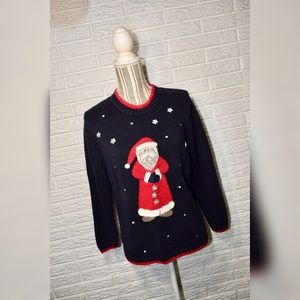 Vintage Christopher & Banks Christmas Sweater